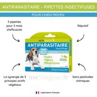 Vetoform Pipettes Antiparasitaire Chien Moyen 15 à 30kg 3x2ml