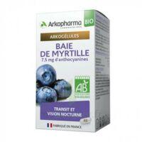 Arkogelules Myrtille Baies Bio GÉl Fl/40 à Bordeaux