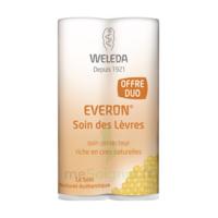 Weleda Duo Soin Des Lèvres Everon® 9,6ml à Bordeaux