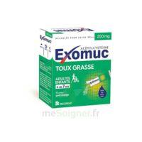 EXOMUC 200 mg, granulés pour usage oral en sachet 15 Sachets/2g à Bordeaux