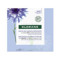 Klorane Bleuet Bio Patchs Défatigants Express 7x2 Patchs à Bordeaux